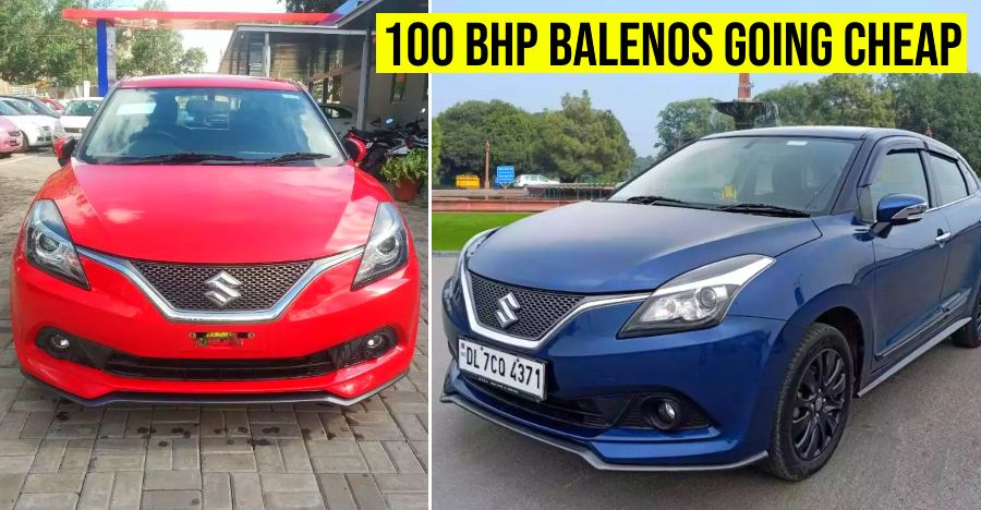 5 sparingly-used Maruti Baleno RS hot hatchbacks selling Rs. 2 lakh cheaper than new