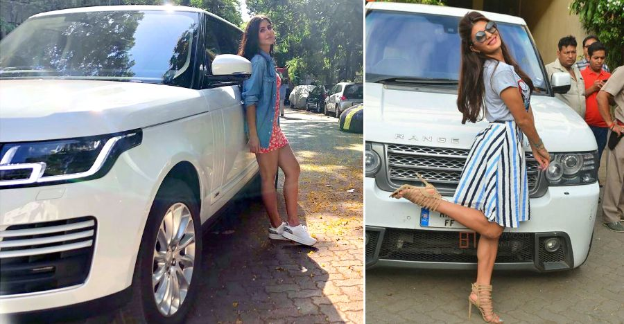 Bollywood actresses & their swanky Land Rover Range Rover SUVs