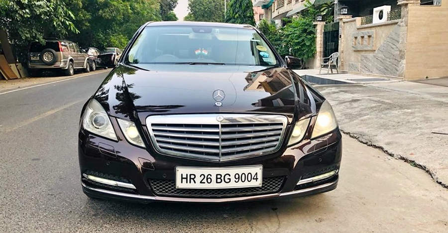 Well-maintained, used Mercedes E-Class with 230 Bhp-540 Nm outputs selling for less than a Maruti Dzire