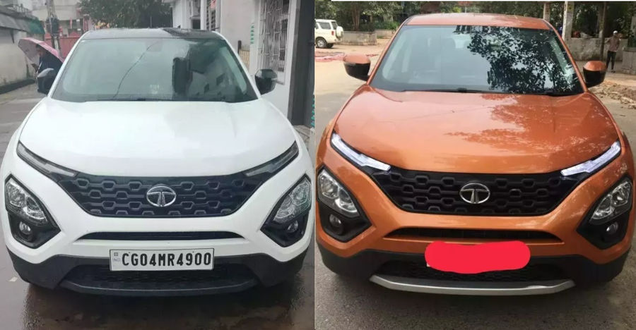 3 almost-new, used Tata Harrier SUVs for sale: Massive savings of up to Rs. 3.5 lakhs