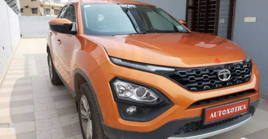 Almost new Tata Harrier XZ top-end for sale: Rs. 3 lakhs cheaper than new