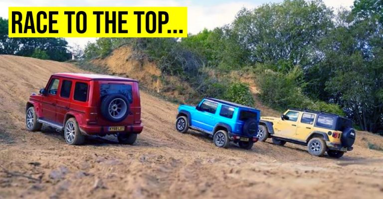 Hill Race Jimny G63 Wrangler Featured