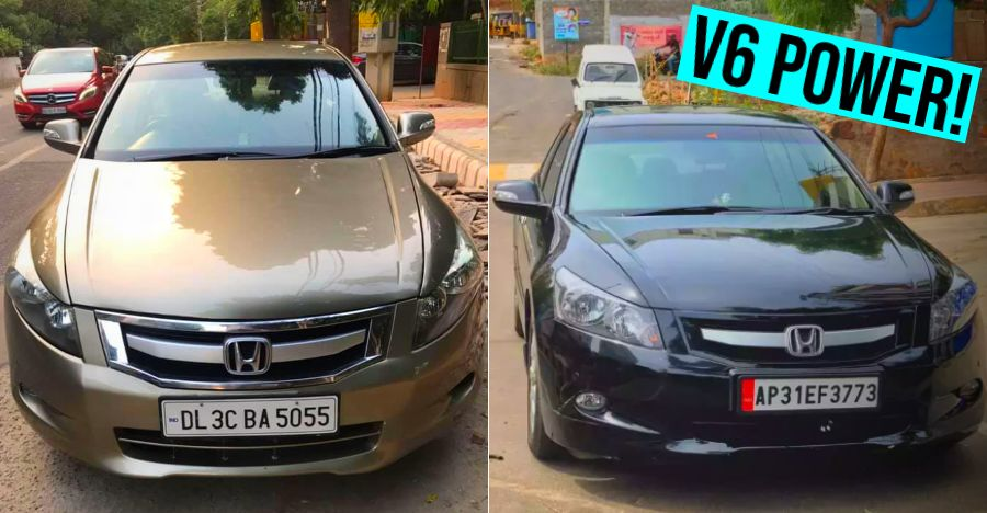 5 used 270 Bhp Honda Accord V6s for sale under Rs. 6 lakhs