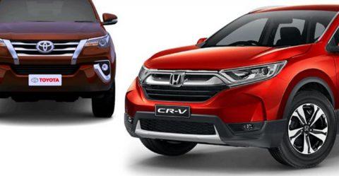 Honda Cr V Toyota Fortuner Featured