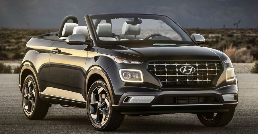 Hyundai Venue: What it'll look like in convertible form