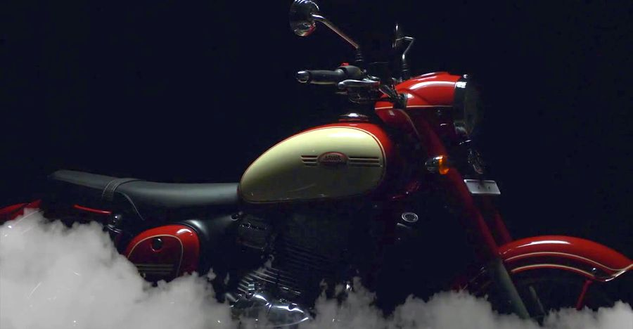 Jawa 300 90th Anniversary Edition detailed on video