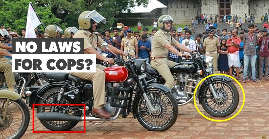 Kerala's top cop conducts bike rally with illegally modified motorcycles: Gets into a controversy