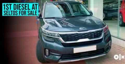 Kia Seltos Diesel Automatic Used Featured