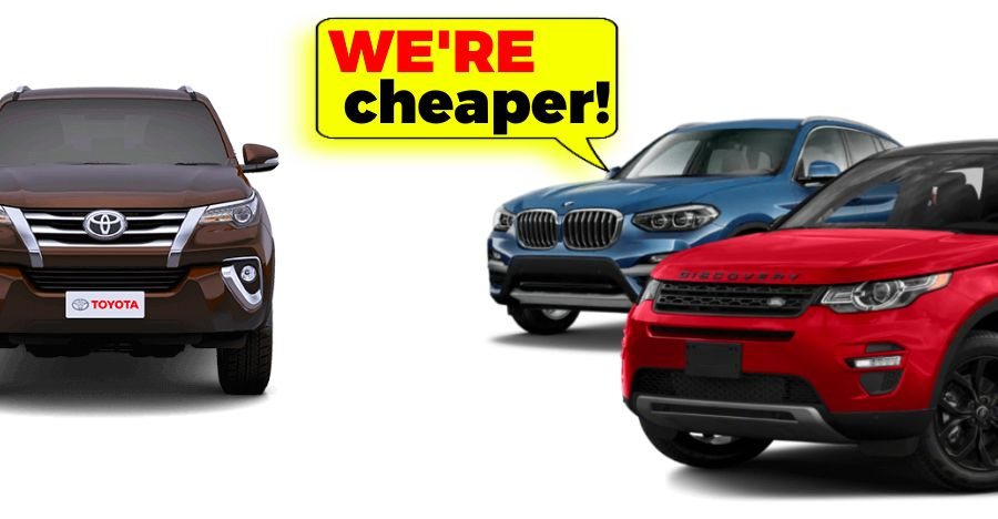 Land Rover Cheaper Than A Fortuner Featured