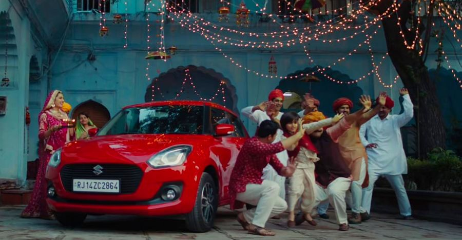 Maruti Suzuki releases new TVC to celebrate India's festive season