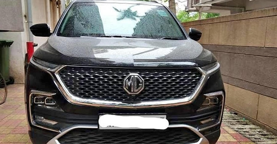 2,000-Km run almost new, used MG Hector iss up for sale: Jump the queue