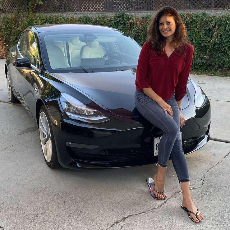 Pooja Batra Tesla Model 3