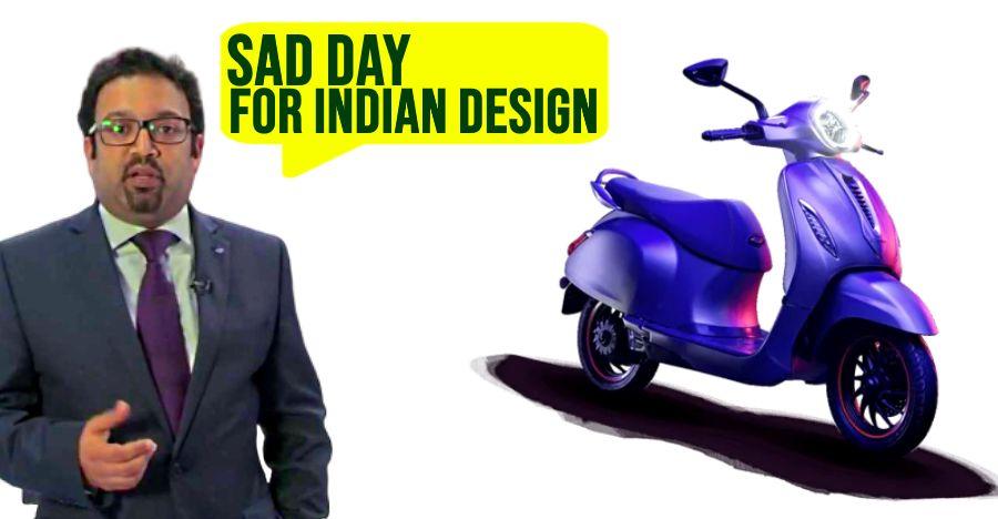 "Pratap Bose of Tata Motors on new Bajaj Chetak scooter: ""A sad day for Indian design'"