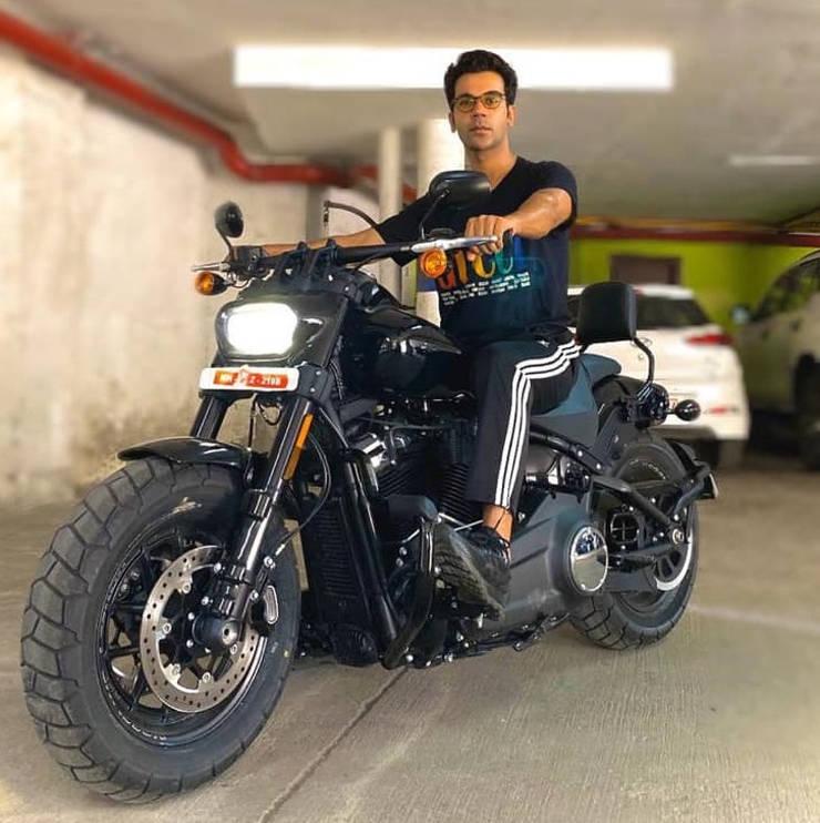Rajkumar Rao Harley Davidson 1