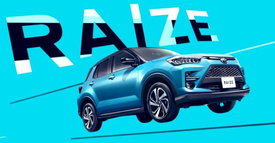 टोयोटा ने अपनी सब-फोर-मीटर न्यू कॉम्पैक्ट एसयूवी राइज किया लॉन्च