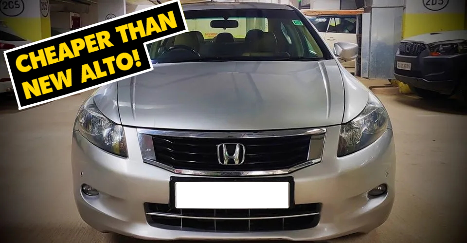 5 Well-maintained, used Honda Accord sedans for sale under Rs. 4 lakh