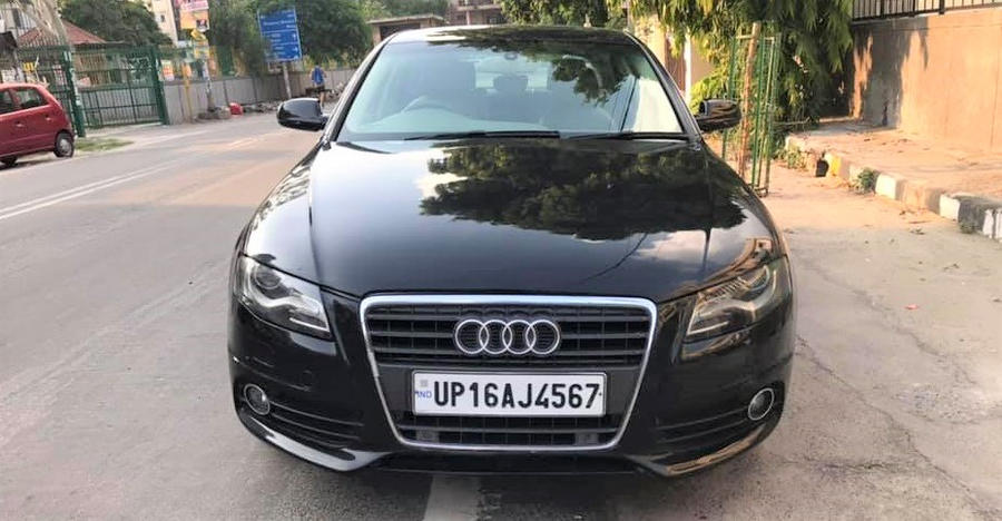 Well-maintained used Audi A4 luxury sedan selling for less than a new Maruti Dzire