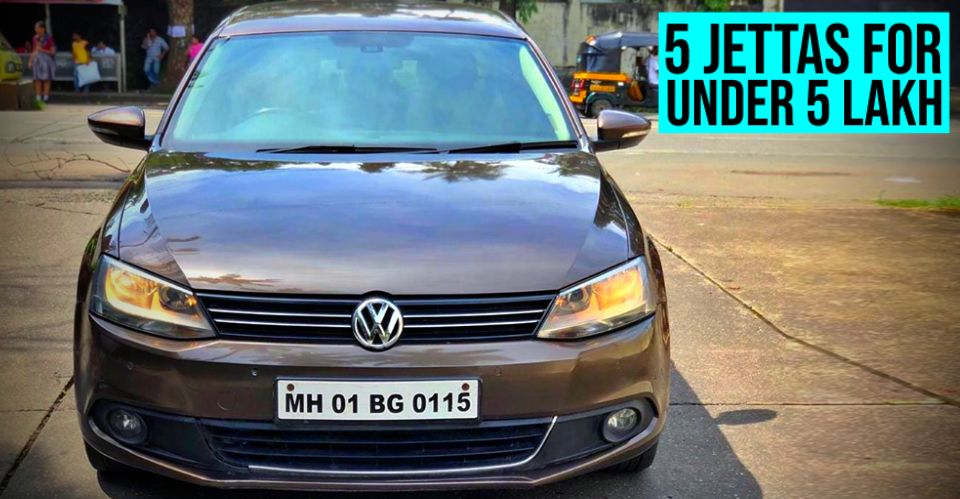 5 used Volkswagen Jettas selling for less than Rs. 5 lakh