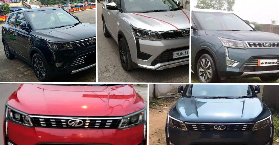 5 Almost-New Used Mahindra XUV300 compact SUVs with very few kilometers running