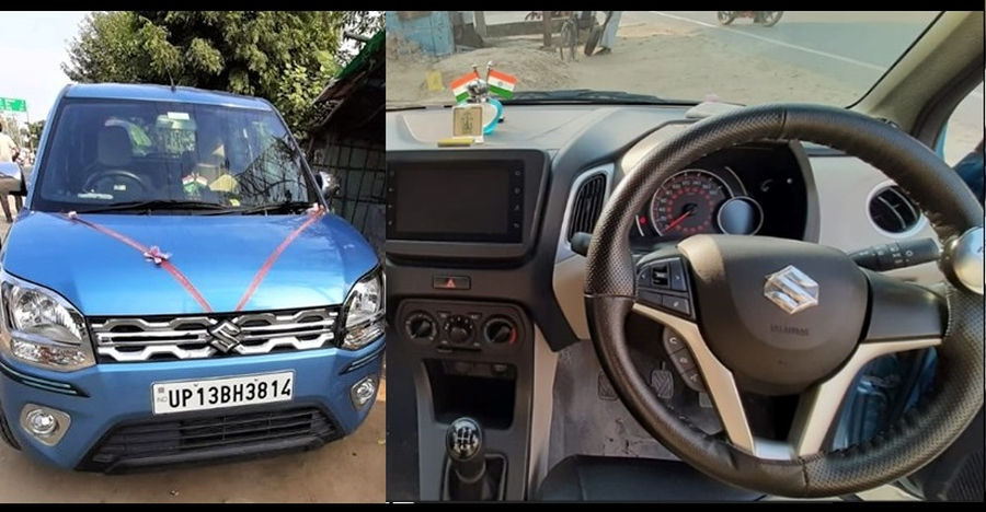 Almost new, used Maruti Suzuki WagonR selling for Rs. 2 lakhs less than new