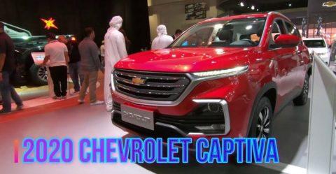 2020 Chevrolet Captiva Featured