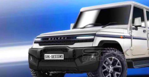2020 Mahindra Bolero Render Featured