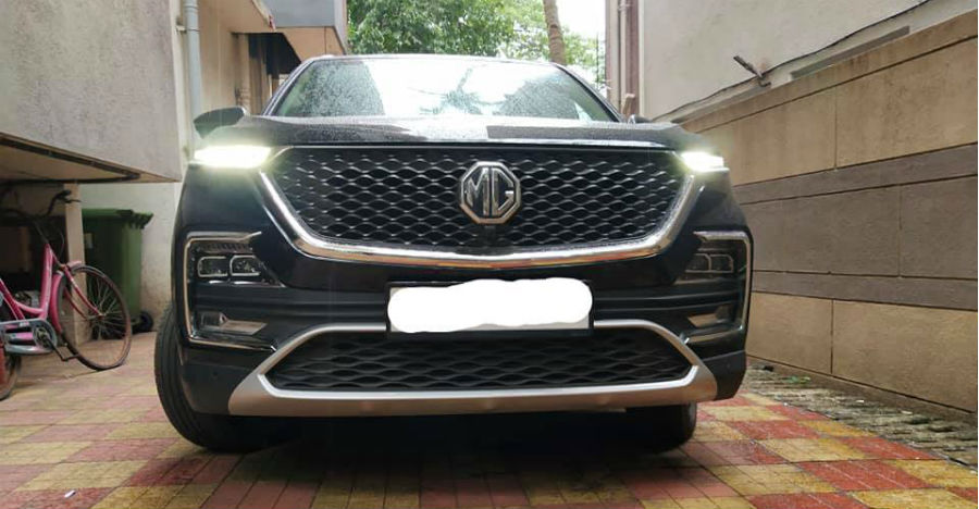 2,000 km run used MG Hector for sale: CHEAPER than new