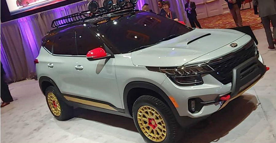 Kia Seltos' official off-road version showcased: Want this?