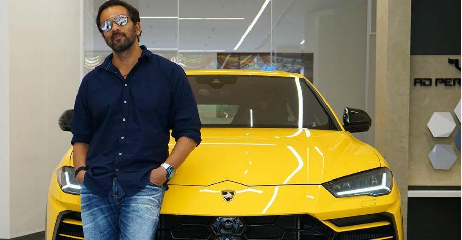 Bollywood director Rohit Shetty's latest ride is a Lamborghini Urus 'Super SUV'