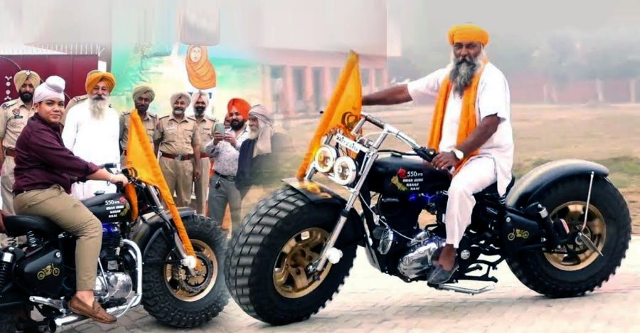India's WILDEST big tyred Royal Enfield: Dad & sons collaborate to build this bike [Video]