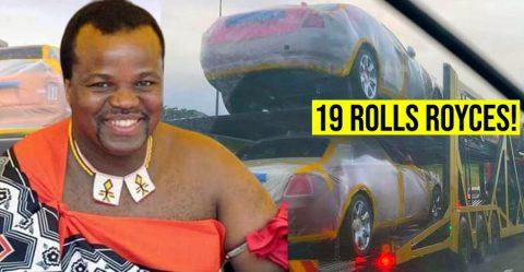 Eswatini King Rolls Royce Featured