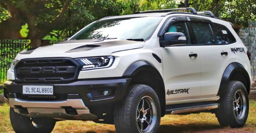 Modified Ford Endeavour with Raptor treatment looks real BUTCH