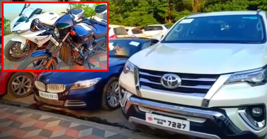 Alleged Gangster BUSTED: Luxury cars & superbikes SEIZED