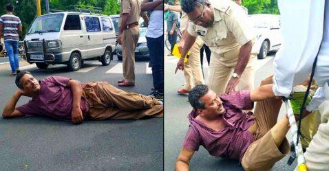 Gujarat Helmet Protest Featured