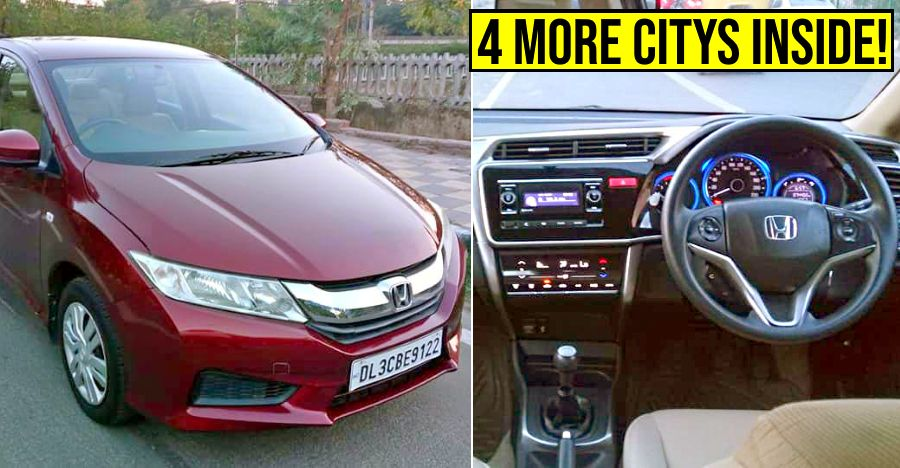 Well-kept, used Honda City sedans: Sub-5 year old models selling for less than Rs. 5 lakh