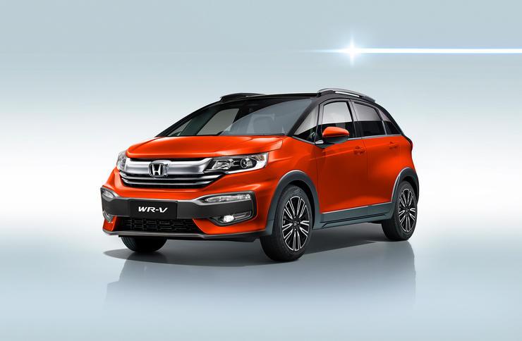 Honda Wr V Render