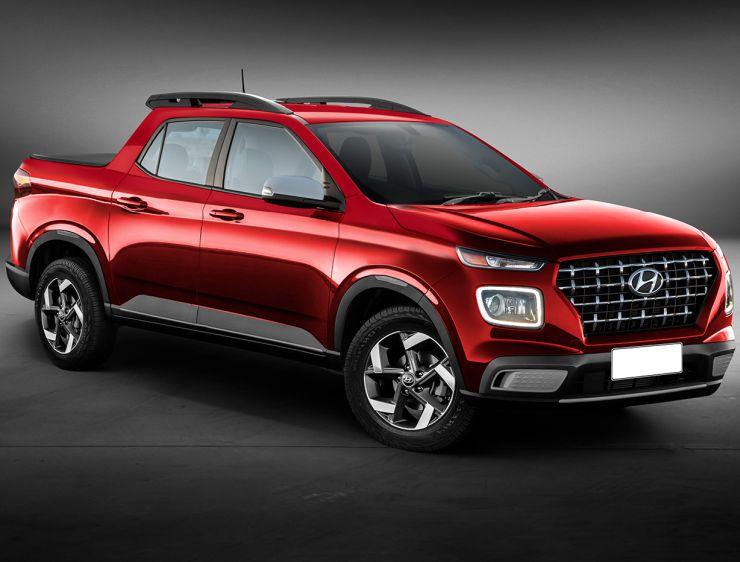 Hyundai Venue Pick Up Truck 1