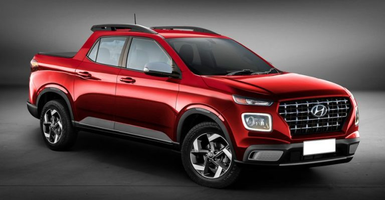 Hyundai Venue Pick Up Truck Featured