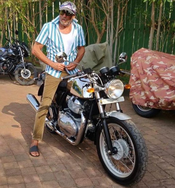 Jackie Shroff's latest ride is a Royal Enfield Continental GT 650