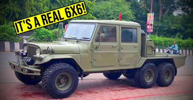 Jeep 6x6 Used Featured