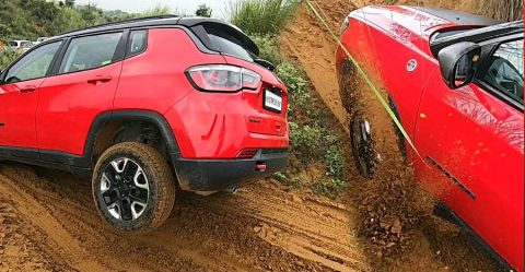 Jeep Compass Trailhawk Stuck Featured