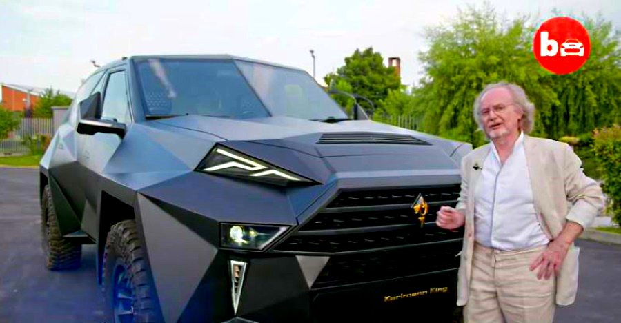 Karlmann King: The world's most EXPENSIVE SUV on video