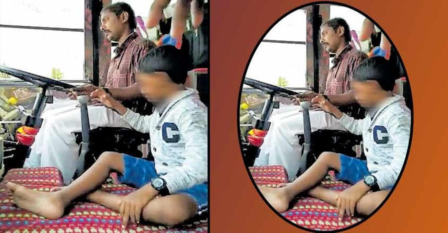 Kerala Bus Driver Suspended Featured
