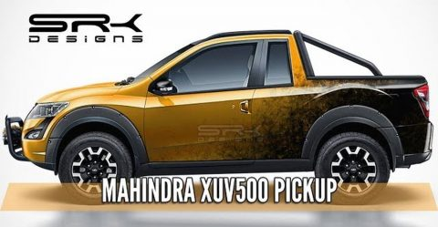 Mahindra Xuv500 Pick Up Truck Render Featured