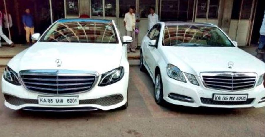 Politician fakes Mercedes Benz number plate to escape 22 lakh road tax: E-Class luxury sedan SEIZED!