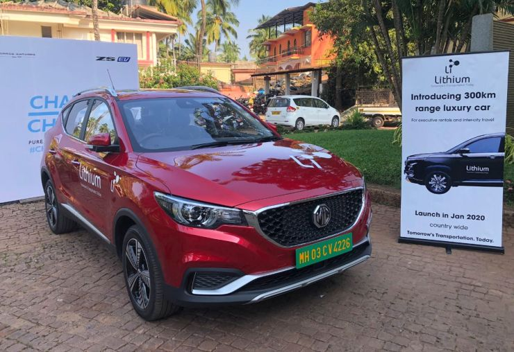MG eZS to be India's first self-drive rental electric SUV