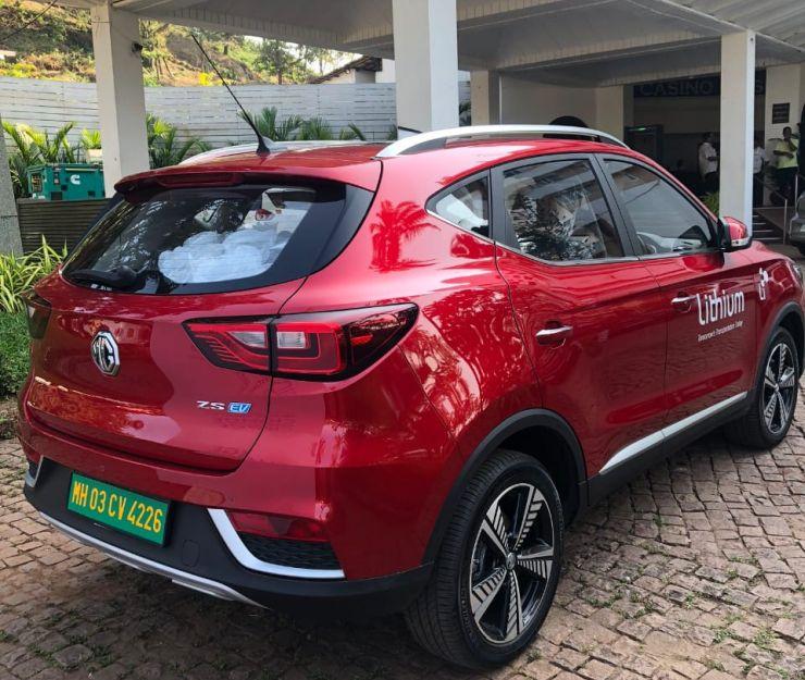 Mg Ezs Electric Suv Lithium Self Drive Rental 2