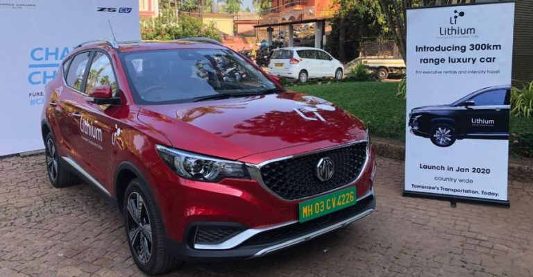 Mg Ezs Electric Suv Lithium Self Drive Rental Featured