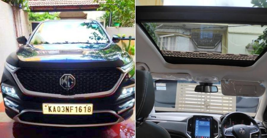 Nearly-new MG Hector turbo petrol twin clutch automatic SUV: More than a lakh cheaper than new
