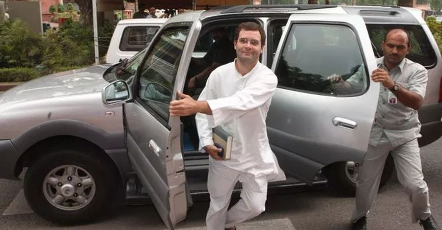 Rahul Gandhi Tata Safari Featured